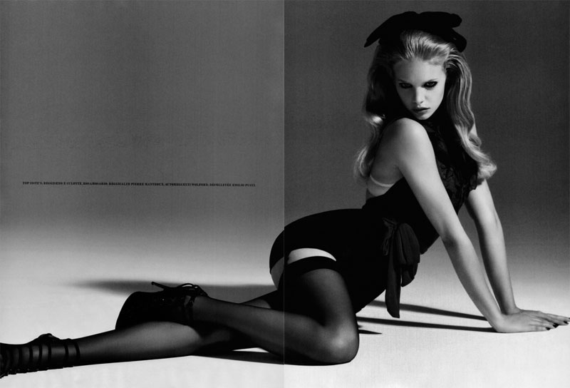 Sweet and Sexy | Marloes Horst by Jeffrey Graetsch for Flair