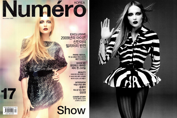 Show Me | Snejana Onopka by Mariano Vivanco for Numéro Korea