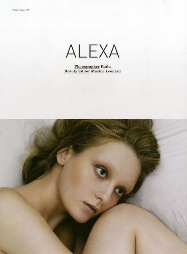 Deutsch #41 | Alexa Yudina by Kutlu
