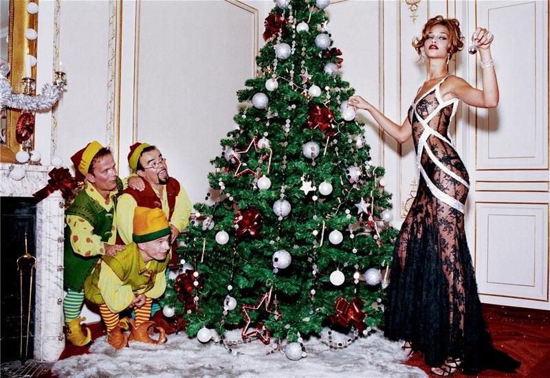 Holiday Beauty | Ana Beatriz Barros by Ellen von Unwerth