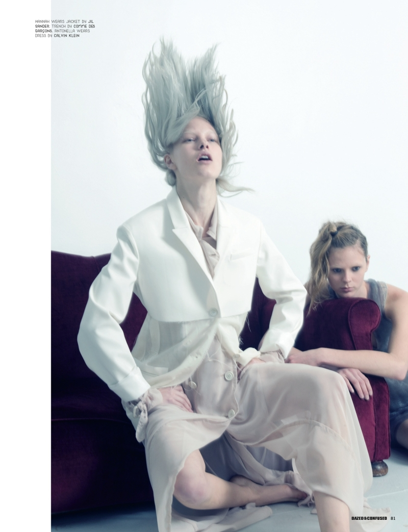 Dazed & Confused | Hannah & Antonella by Benjamin Alexander Huseby