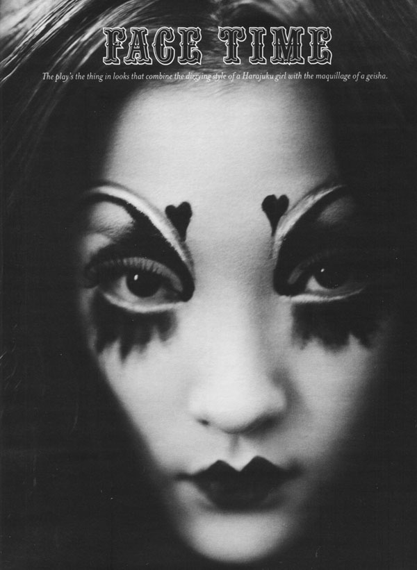 A Look Back | Face Time by Paolo Roversi