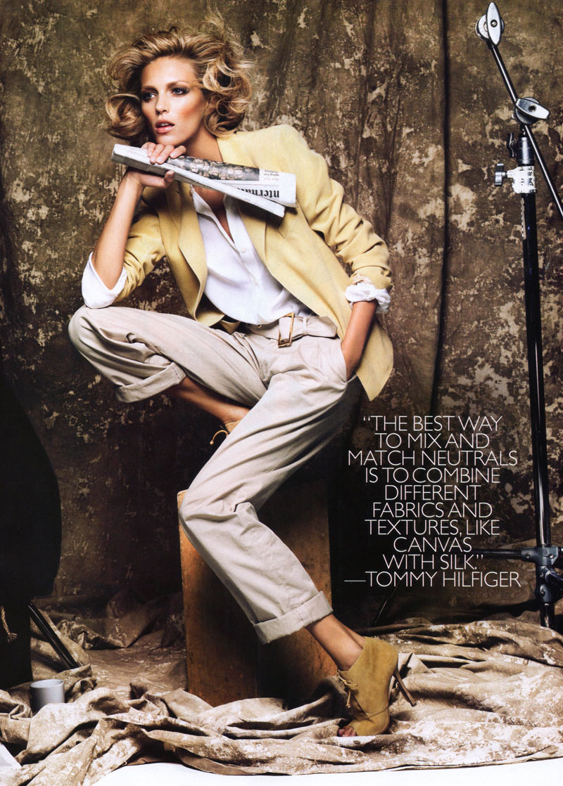 Harper's Bazaar US | Anja Rubik by Greg Kadel
