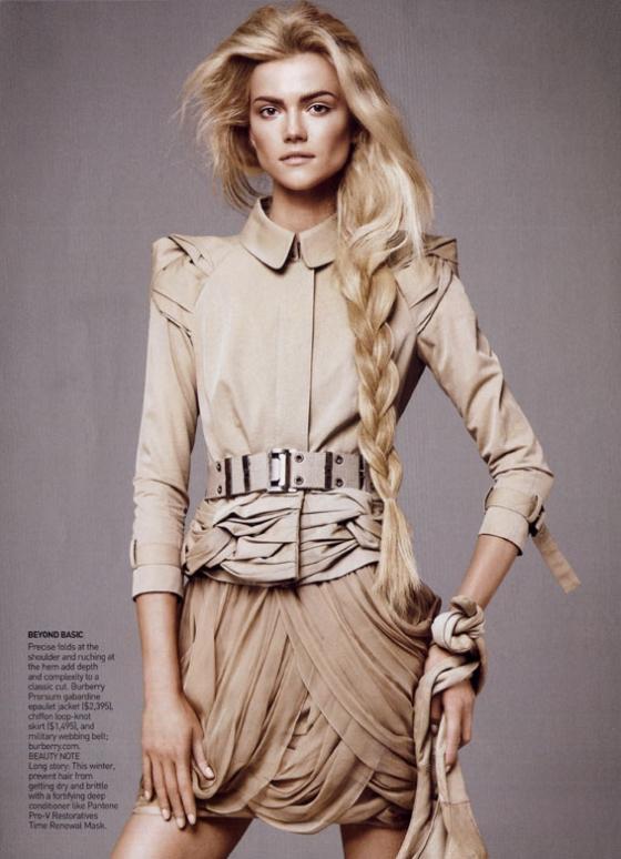 Vogue US January 2010 | Kasia Struss by David Sims
