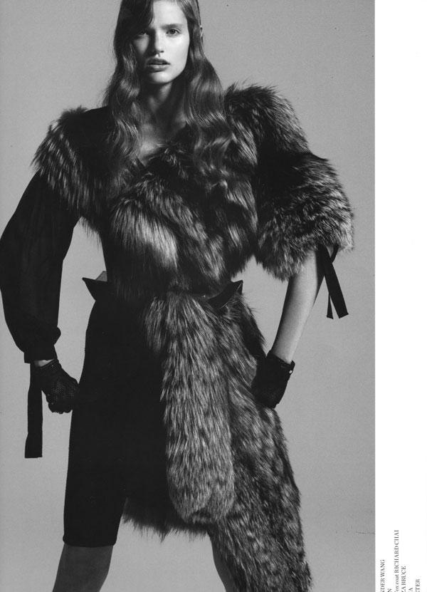 Fur Fur Fur | Katie Fogarty by Nicolas Moore for Saga