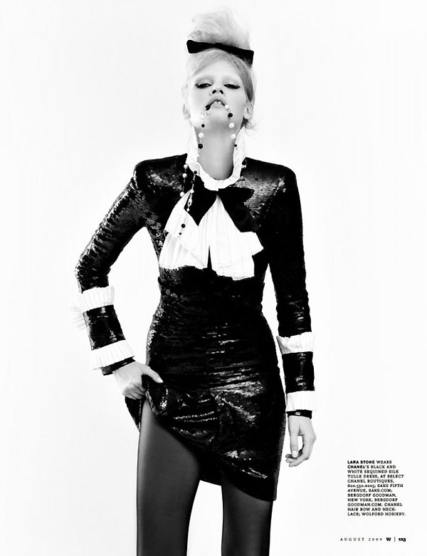 Year in Review | 2009's Leading Woman--Lara Stone