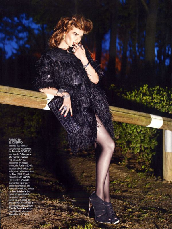 Vogue España | Louise Pedersen by Gonzalo Machado