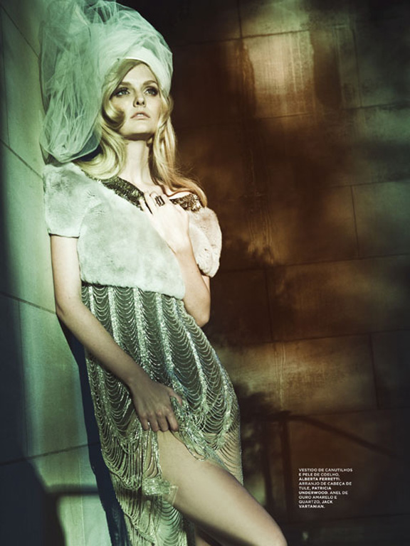 L'Officiel Brazil | Lydia Hearst by Gomillion & Leupold
