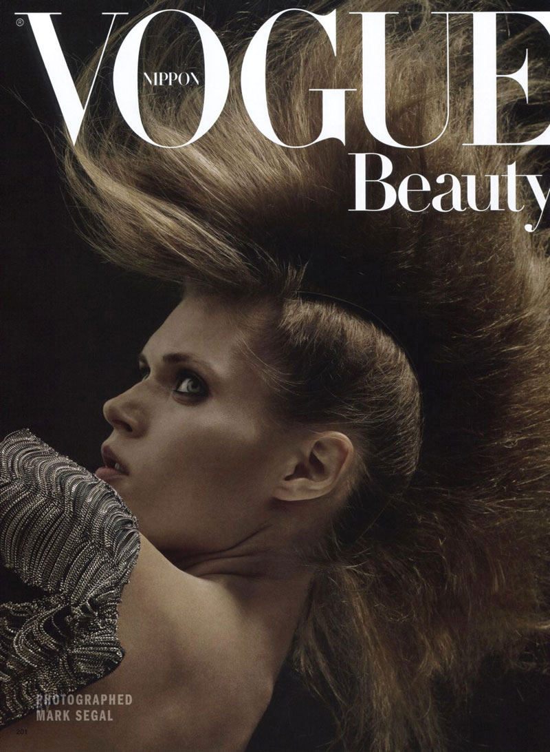 Vogue Nippon Beauty | Malgosia Bela by Mark Segal