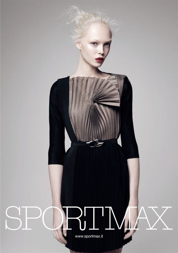 Campaign | Siri Tollerød by David Sims for Sportmax S/S '10