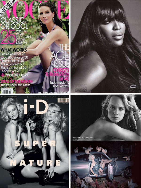 Year in Review   The Supermodel Invasion