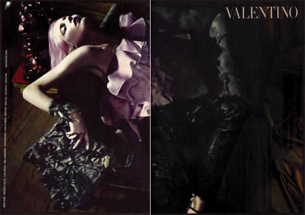 Campaign Preview | Dree Hemingway by Mert & Marcus for Valentino Spring 2010