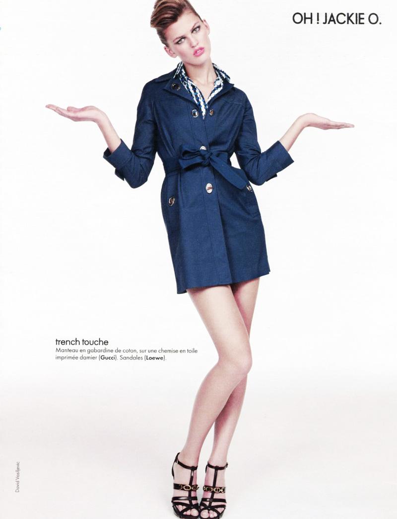 Elle France Jan 15 | Ali Stephens by David Vasiljevic