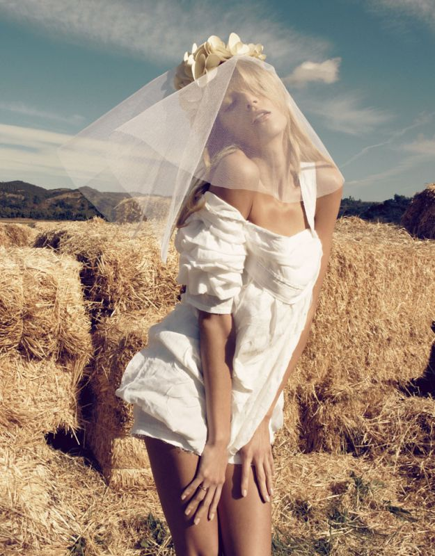 Vogue Nippon March | Anja Rubik by Camilla Akrans