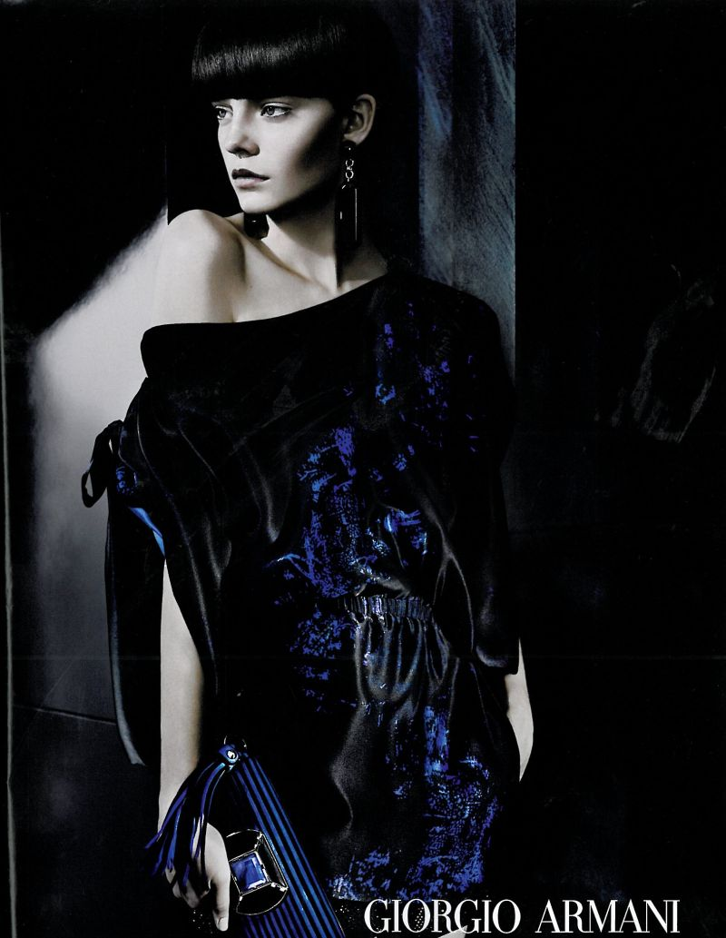 Armani Spring Campaign Preview | Nimue Smit by Josh Olins