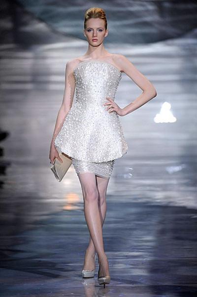Paris Haute Couture | Armani Privé Spring 2010