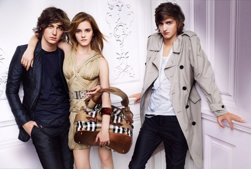 Burberry Spring 2010 Campaign | Emma Watson by Mario Testino