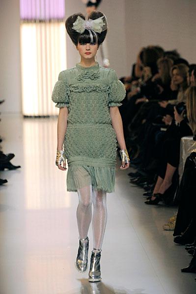 Paris Haute Couture | Chanel Spring 2010 Couture