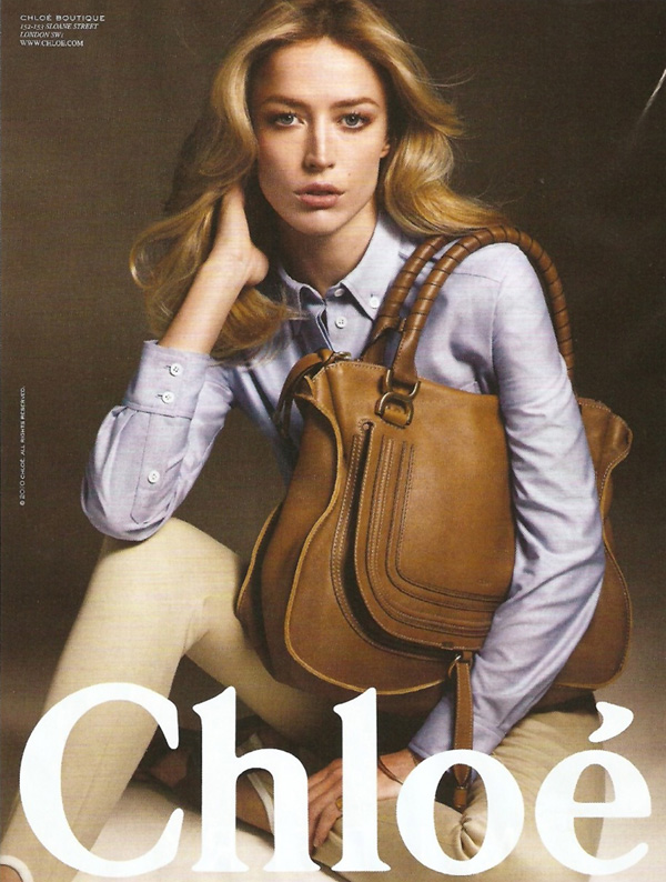 Chloé Spring/Summer 2010 Campaign Preview | Raquel Zimmermann by Mario Sorrenti