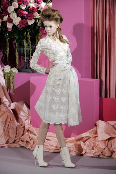 Paris Haute Couture   Christian Dior Spring 2010 Couture