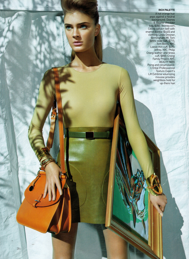 Vogue US Feb 2010 | Constance Jablonski by Raymond Meier