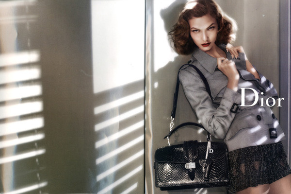 Dior Spring 2010 Campaign Preview | Karlie Kloss by Steven Meisel