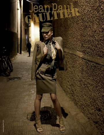 Spring/Summer 2010 Campaign Previews | Dree Hemingway for Both Jean Paul Gaultier & Valentino