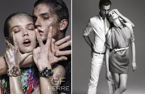 GF Ferré Spring 2010 Campaign | Mina Cvetkovic by Emilio Tini