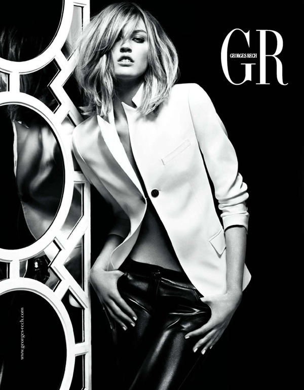 Georges Rech Spring/Summer 2010 Campaign Preview   Ali Stephens by Greg Kadel