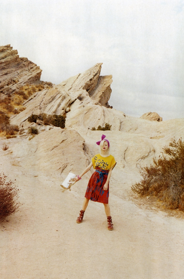 Spring 2010 Campaign Preview   Marc by Marc Jacobs--Hannah Holman by Juergen Teller