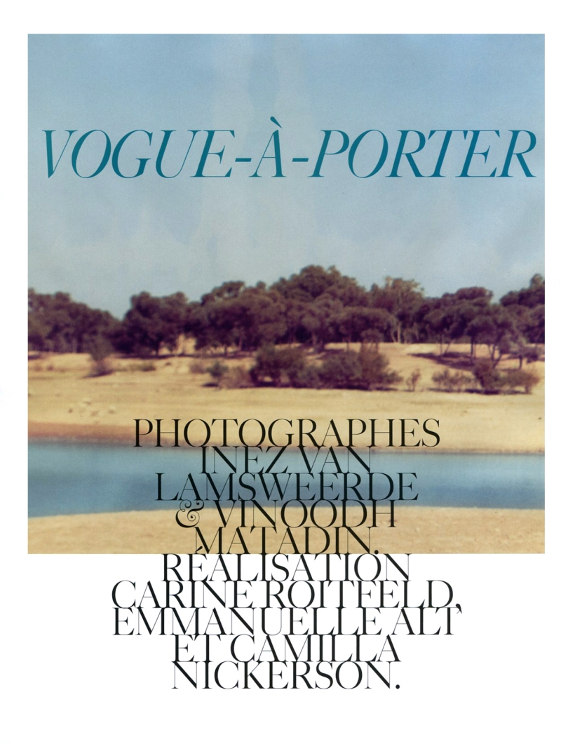 Vogue Paris February 2010 | Vogue-à-Porter by Inez & Vinoodh