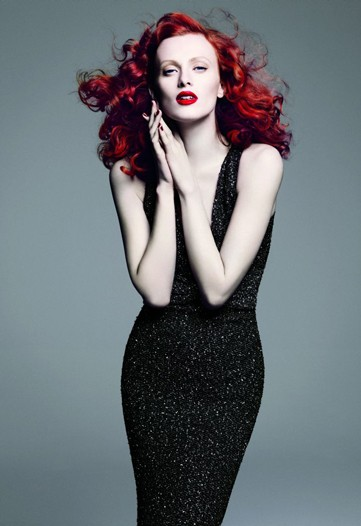 S/S '10 Campaign Preview | Karen Elson for St. John by Greg Kadel