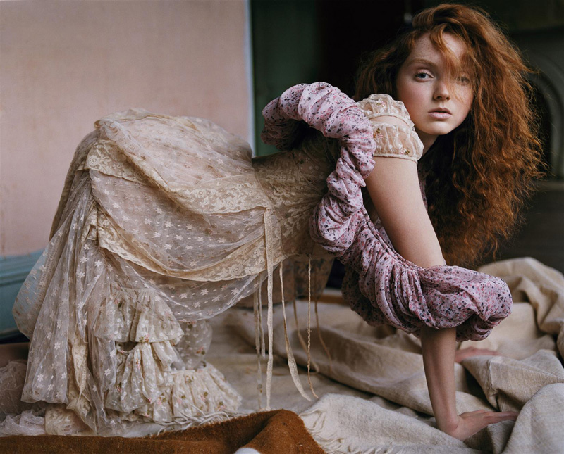 Morning Beauty   Lily Cole by Carter Smith