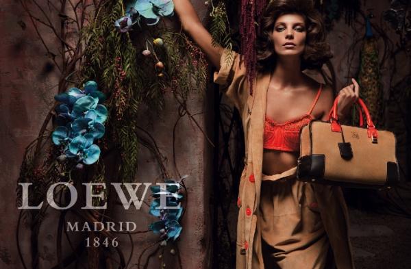 Spring 2010 Campaign Preview | Loewe--Daria Werbowy by Inez van Lamsweerde & Vinoodh Matadin