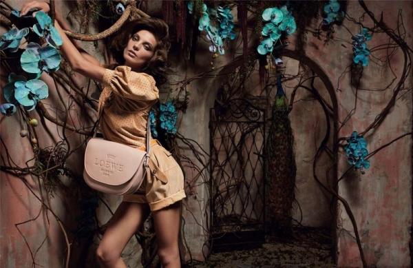 Loewe Spring 2010 Campaign | Daria Werbowy by Inez & Vinoodh