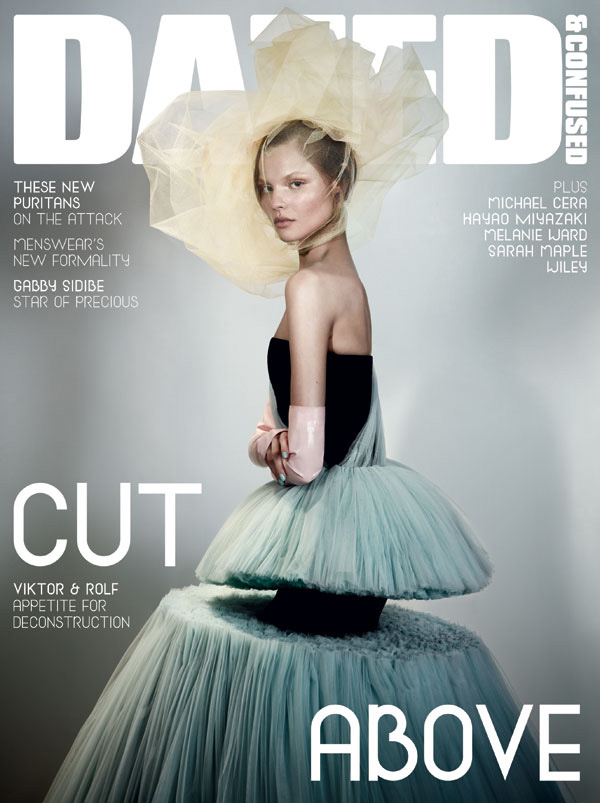 Dazed & Confused February 2010 Cover | Magdalena Frackowiak by Josh Olins