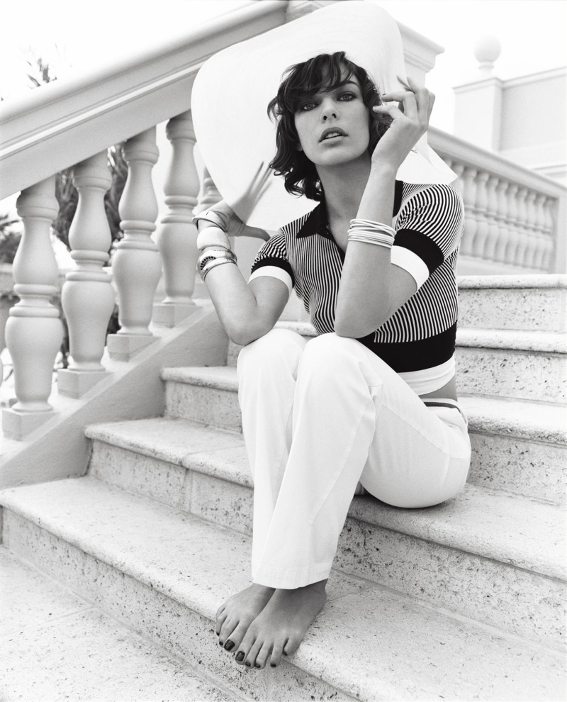 Morning Beauty | Milla Jovovich by Carter Smith