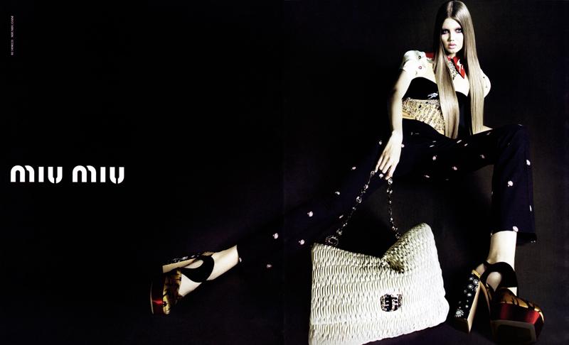 Miu Miu Spring/Summer 2010 Campaign Preview | Lindsey Wixson by Mert Alas & Marcus Piggott