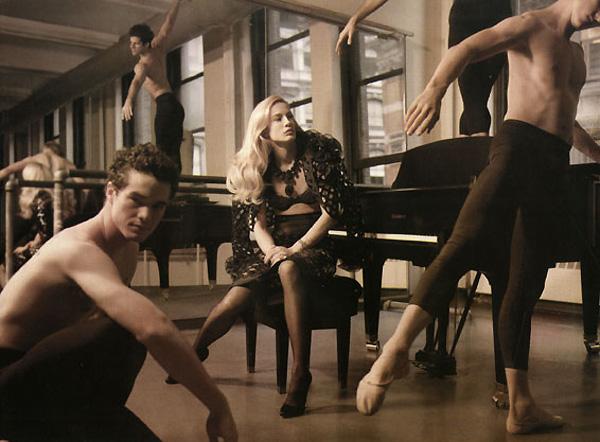 Elle US February | Natasa Vojnovic by Carter Smith