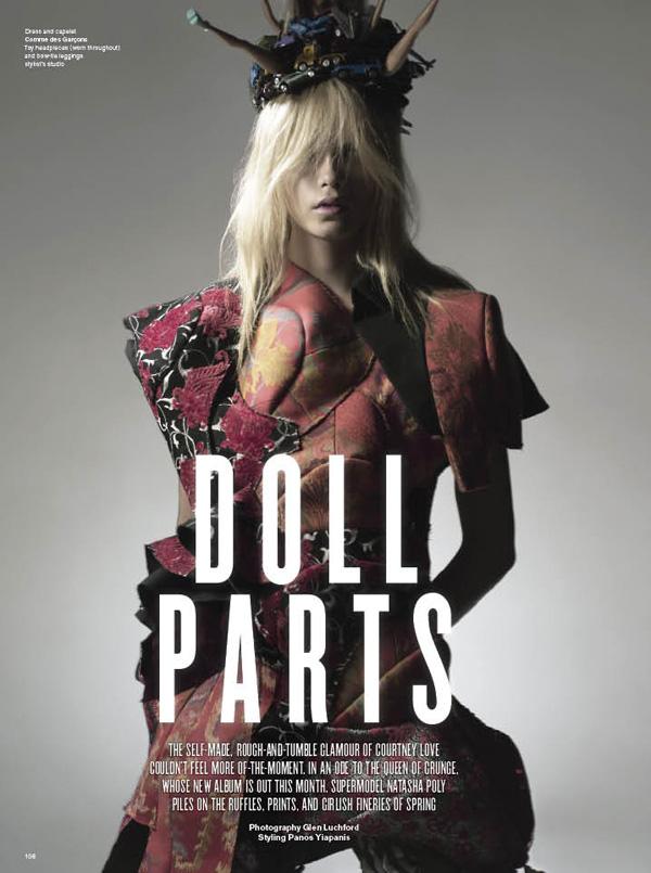 V #63 | Doll Parts-Natasha Poly by Glen Luchford