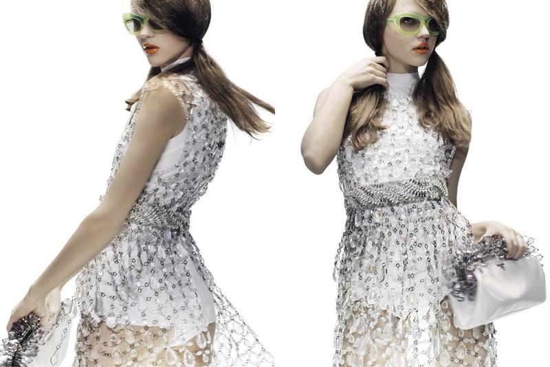Prada Spring 2010 Campaign | Rasa Zukauskaite by Steven Meisel