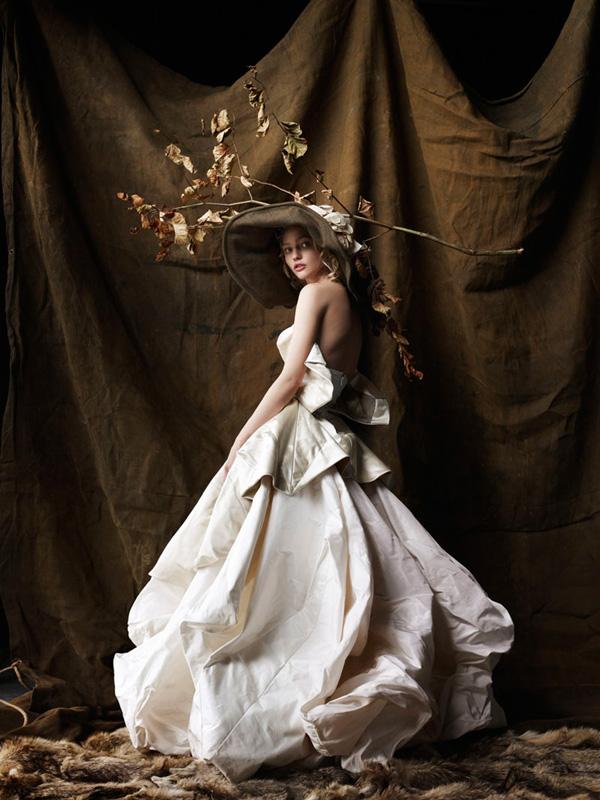 Morning Beauty | Sasha Pivovarova by Mario Testino