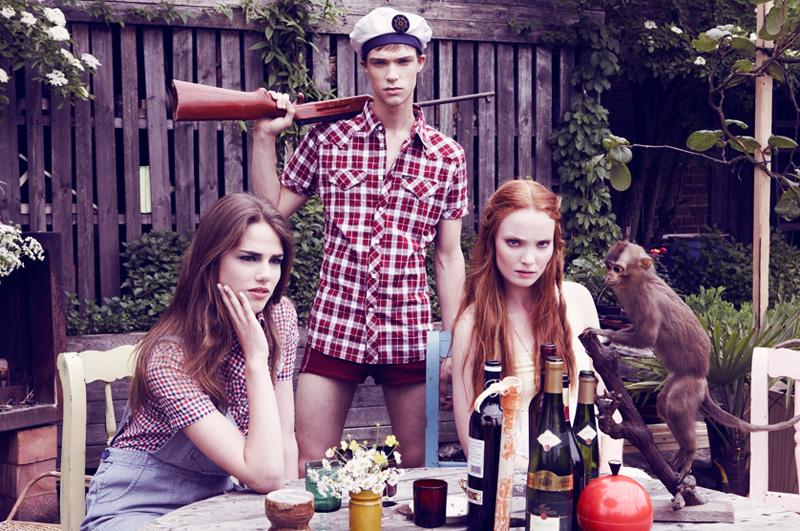 Drome Fall 2009 | Seppe, Anne & Lieze by Kris De Smedt