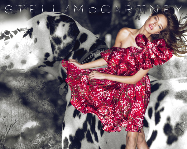 Stella McCartney S/S '10 Campaign Preview   Natalia Vodianova