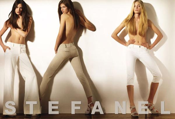Stefanel Spring 2010 Campaign | Daria Werbowy by Mario Testino