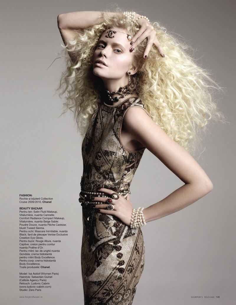 Harper's Bazaar Romania | Isa Asklof by Sylvie Malfray