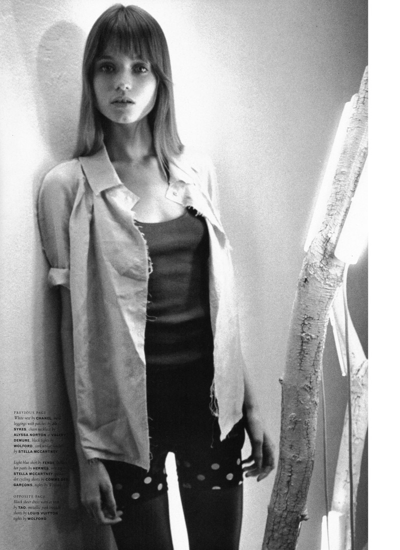 Abbey Lee Kershaw by Ronald Dick | POP Spring 2010