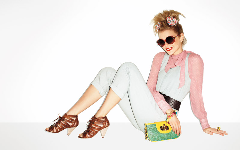 Aldo Spring/Summer 2010 Campaign | Jessica Stam by Terry Richardson