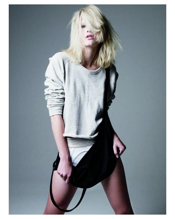 T by Alexander Wang S/S '10 Lookbook | Hannah Holman by Daniel Jackson