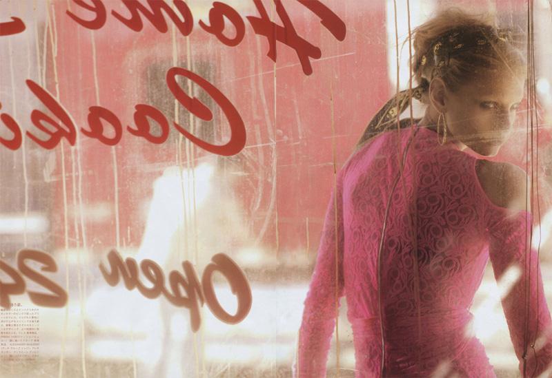 Vogue Nippon March | Anna Selezneva by Mark Segal